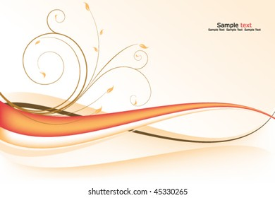 swirling background vector