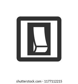 switch. monochrome icon