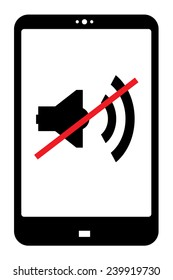 switch your mobile device sound off