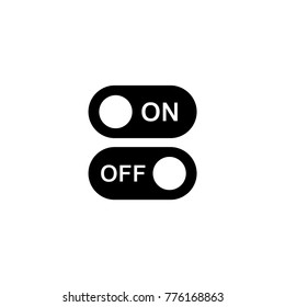 Switches on and off vector icon
