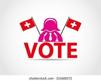 Switzerland Podium Speech Woman Politician