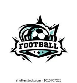 Swoosh Football Logo