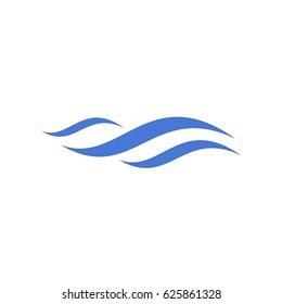 Swoosh Wave Logo Concept