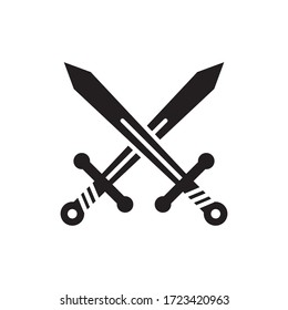 Sword Icon Design Logo Template