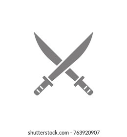 swords icon. Web element. Premium quality graphic design. Signs symbols collection, simple icon for websites, web design, mobile app, info graphics on white background