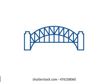 Sydney Harbour Bridge Icon
