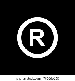 Symbil R original.standard sign r