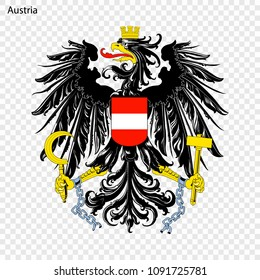 Symbol of Austria. National emblem