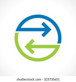 symbol of bidirectional arrows