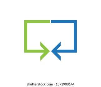 Bidirectional Arrows Images Stock Photos Vectors Shutterstock