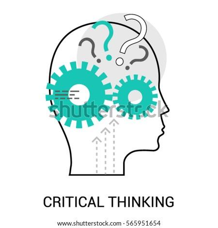 Symbol Critical Thinking Profile Head