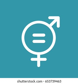 symbol of equal pay day. vector