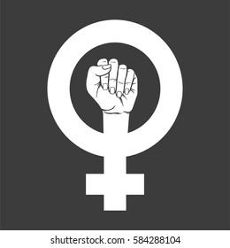 Feminist Symbol Images Stock Photos Vectors Shutterstock