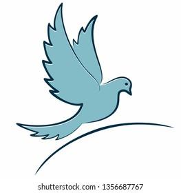 Symbol of flying bird.