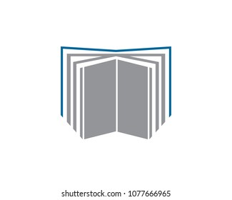 is a symbol in the form of a book symbolizing lessons, learning or education