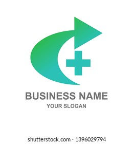 symbol health medical logo company