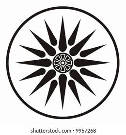 Symbol of king Philip of Macedonia