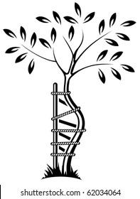 The symbol of orthopedics and traumatology. Vector image.