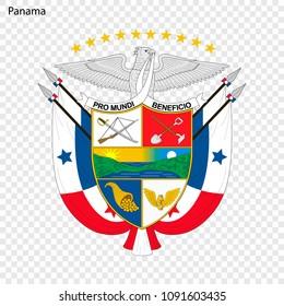 Symbol of Panama. National emblem