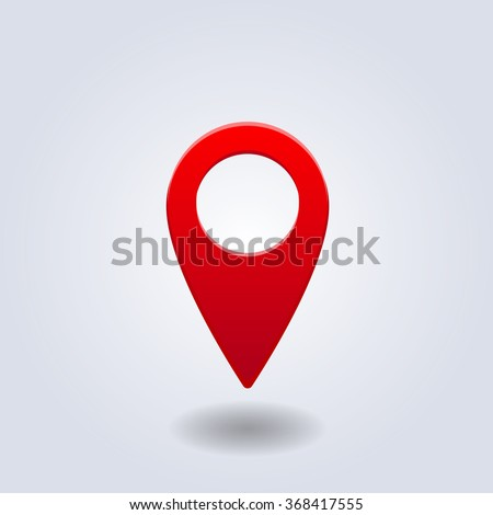 symbol place map pointers gps location stock vector royalty free