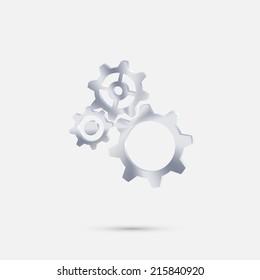 symbol settings. cogwheel
