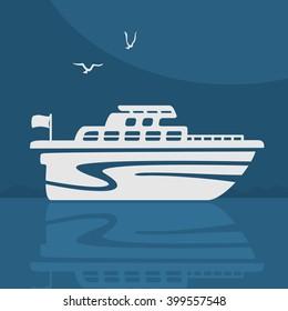 Symbol Vector Boat