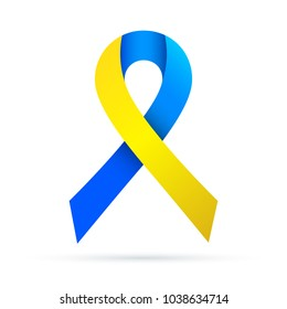 Down Syndrome Awareness Ribbon Images Stock Photos Vectors