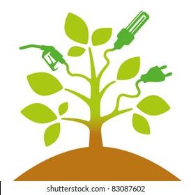 symbolic bioenergy tree