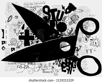 Symbolic image of scissors