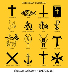 Symbols christian religion
