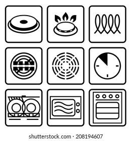Symbols of food grade metal indicate properties and destination of a metallic utensil.