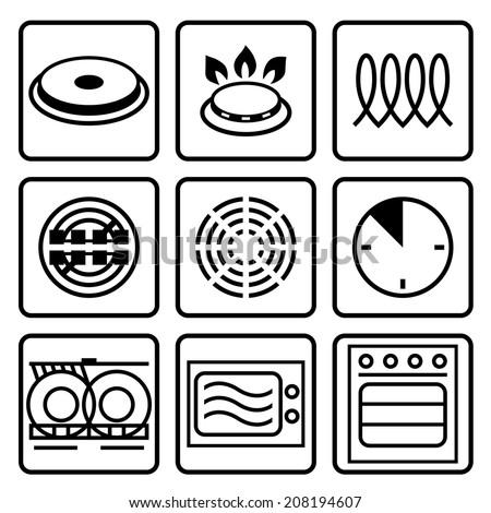 Symbols Food Grade Metal Indicate Properties Stock-Vektorgrafik ...