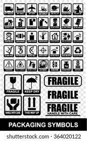 symbols, icon, packaging