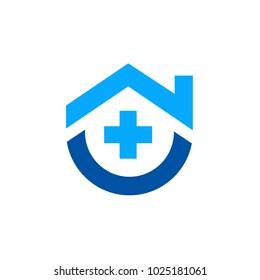 Symbols for medical, hospitals, healthy homes