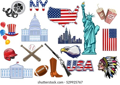 Usa symbol images stock photos vectors shutterstock for Symbols of the usa coloring pages