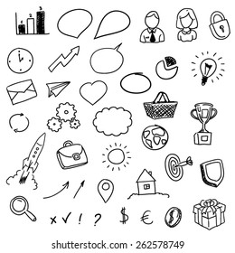 Symbols for whiteboard