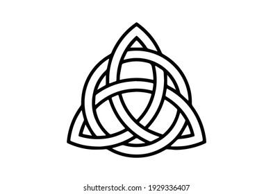 Symmetric Vector Illustration. Isolated on White background. usable for tattoos, t-shirt designs, etc.