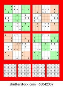 Sudoku Medium Images, Stock Photos & Vectors | Shutterstock