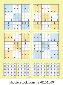 Sudoku Images, Stock Photos & Vectors | Shutterstock