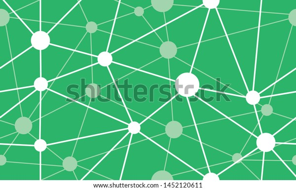 Synapse Seamless Pattern Green Stock Vector (Royalty Free) 1452120611