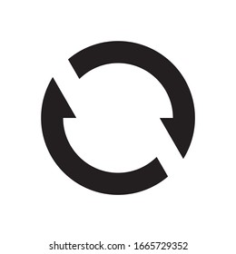 synchronize sign icon symbol vector illustration