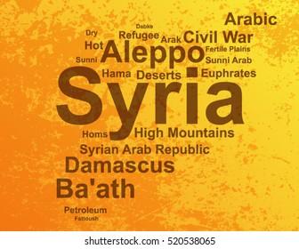 Syria Word Cloud