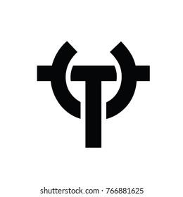 T C Logo Vector
