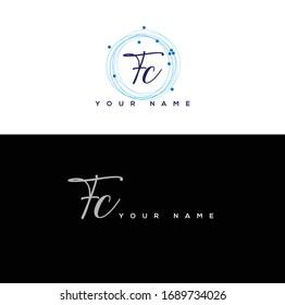 T C TC  Initial letter handwriting and signature logo.
