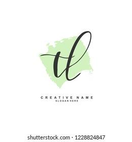 T L TL Initial logo template vector