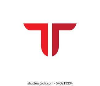T Letter Logo Business professional logo template