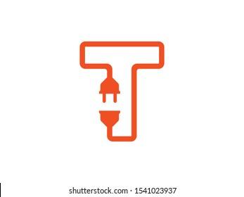 T Letter logo or symbol template
