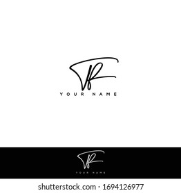 T R TR Initial letter handwriting and signature logo.