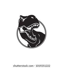t rex logo design