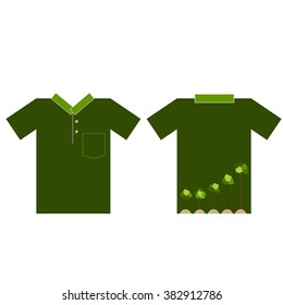 T- shirt design - ECO FRIENDLY - Creative Ecology concept with Trees Vector Design.